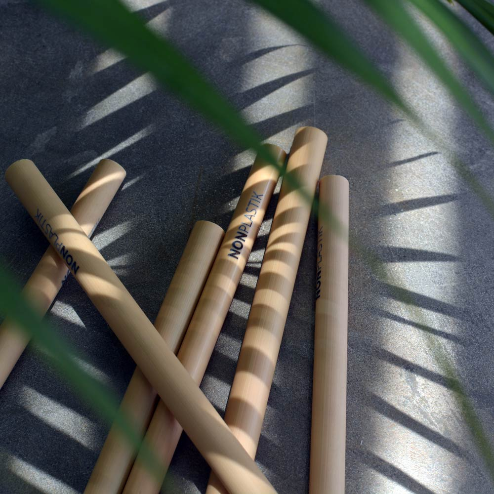 Ecological and natural bamboo straws